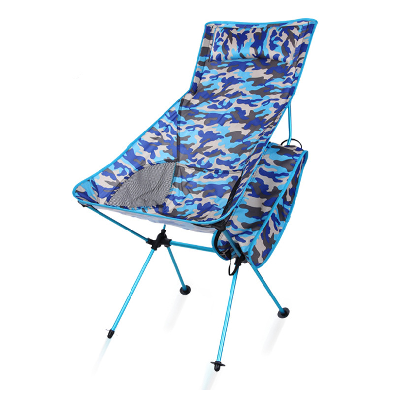 Modern Outdoor camping Camo chairs picnic aluminum alloy folding moon chair garden, beach chair, travel and leisure Recliners outdoor aluminum alloy folding leisure stool portable mazar stools travel picnic chairs