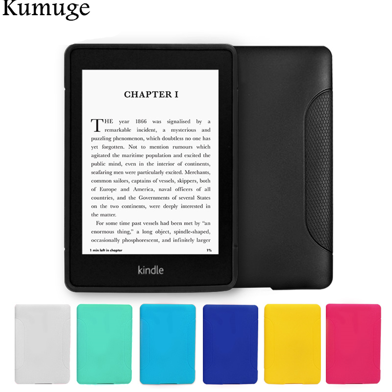 For Kindle Paperwhite 3/2/1 Case 6 inch Soft Ultra Slim TPU Silicon Tablet Ereader Back Cover for Funda Amazon Kindle+Film+Pen original bluboo xfire 2 tpu back case tempered glass film