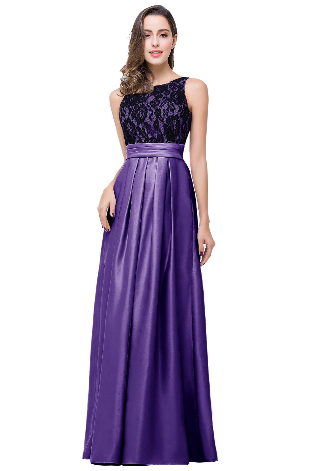 Black and Purple and Turquoise Bridesmaid Dresses | Dress images