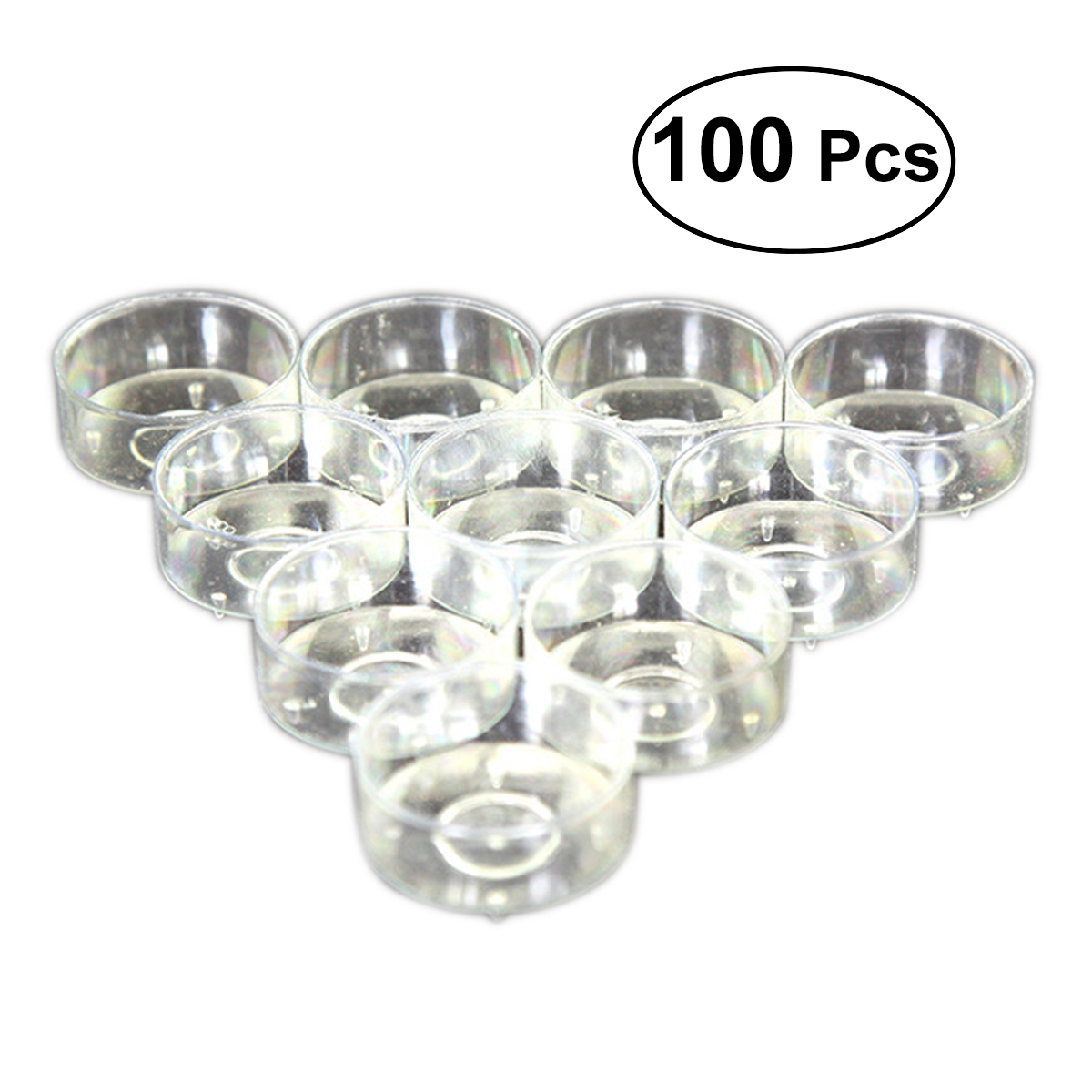 10x Clear Butterfly Tealight Cup Tea Light Holder Candle Molds Wedding Decor