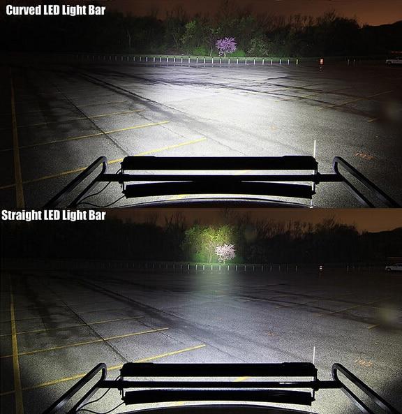 Free shipping 50 cree curved off road 288w led light bar spot free shipping 50 cree curved off road 288w led light bar spot flood combo aloadofball Choice Image