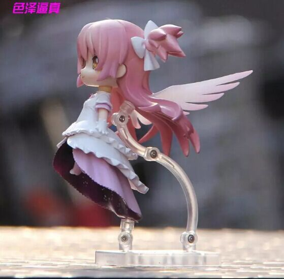 Image 3 - 12cm 4.8 inches Nendoroid Puella Magi Madoka Magica kaname madoka PVC Action Figure Collection Model Toy-in Action & Toy Figures from Toys & Hobbies