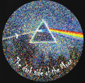 the dark side of the moon oil painting pattern Pink Floyd cotton t shirt new design