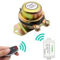 Dc12v 24v interruptor de bateria de carro remoto automático sem fio controle desconexão travamento relé eletromagnética solenóide terminal energia