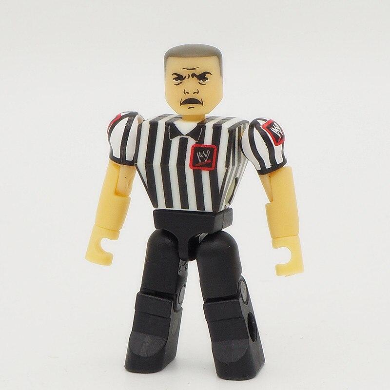 Wrestling gladiators Referee Action figures Wrestler 2inch Bricks Kids Gift Toys
