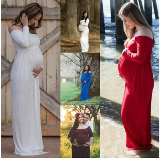 4658045ad Sesión de Fotos de Maternidad vestidos de Maternidad embarazada fotografía  atrezzo ropa de playa maxi Vestido