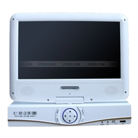 H 264 Security 8CH HD 1080P Realtime DVR AHD Analog Dual Mode 10 1 Inch LCD