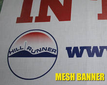 Perforated Mesh Fence Scrim Banner(China)