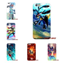 Pokemon Mega Lucario Flexible para iPhone 4X4 4S 5 5S 5C SE 6 6 S 7 8 Plus Accesorios carcasa del teléfono cubre(China)