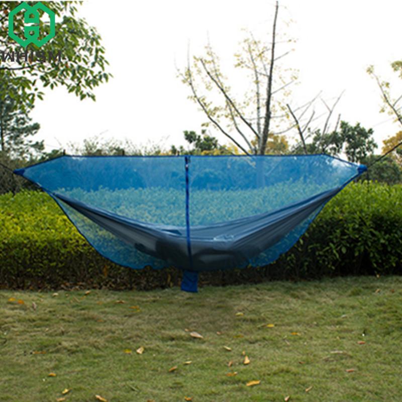 WHISM Portable Hammock Mosquito Net Nylon Hammock Bug Net Garden Swing Hammock Netting Camping Mosquitera Mesh Hanging Bed Net мидж москитная насекомых hat bug mesh head net face protector путешествия отдых бесплатная доставка