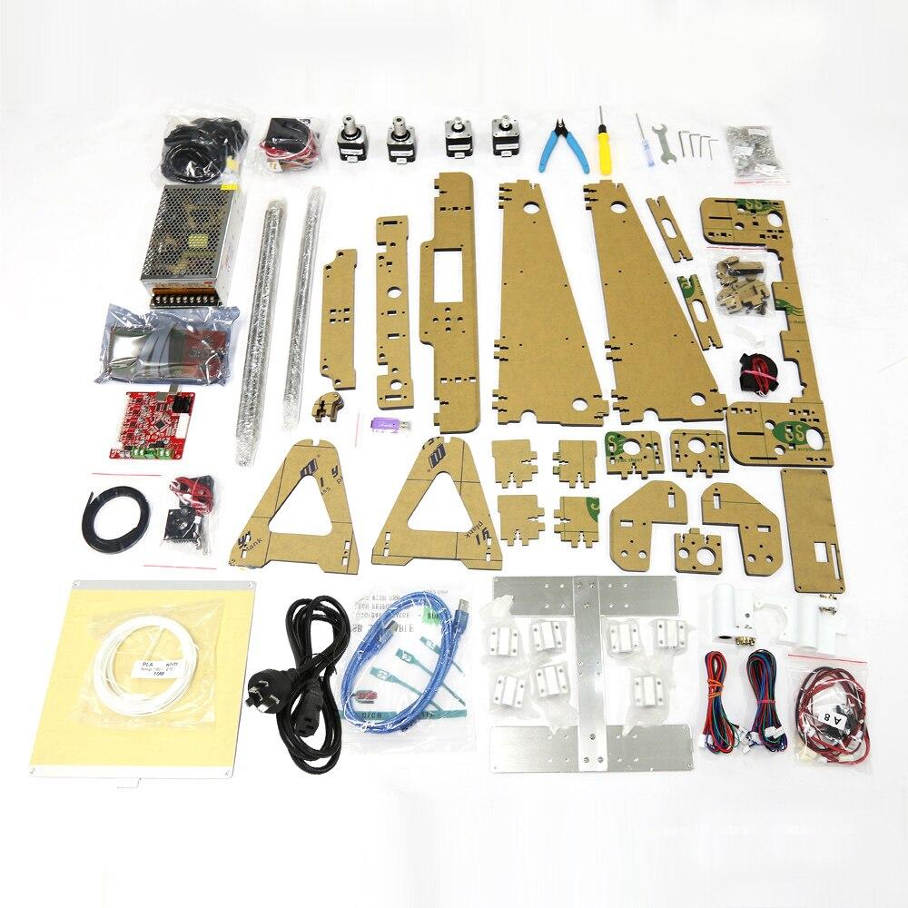 Anet A8 Auto niveau A8 3d imprimante Prusa i3 3d imprimante Kit diy 0.5 kg PLA filament comme cadeaux gratuite de Moscou Russe Entrepôt - 6