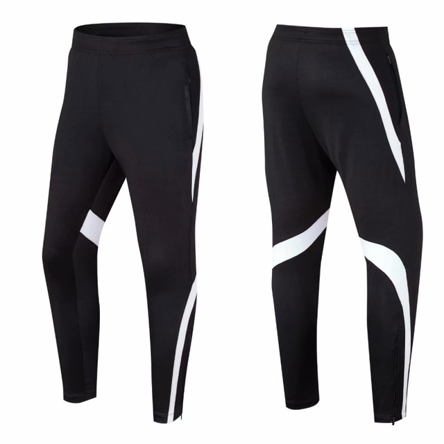 Breathable Men Soccer Training Pants Sports Running Pant Fitness Hiking Tennis Basketball Football Jogging Sweatpants Skinny Leg