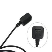 baofeng uv 5r K Plug מכשיר הקשר אוזניות D-סוג אצבע אוזן Stick זוגי PTT אפרכסת טקטי אוזניות עבור Baofeng UV-5R Kenwood TK-3107 (3)