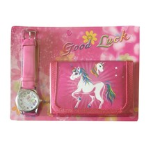 1pcs Hot sale New unicorn cartoon kids watch Wristwatch and