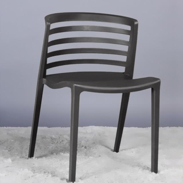 Moda moderna e minimalista sedia. personalità sedia di plastica ...