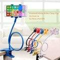 360 градусов Гибкая Рука мобильный телефон подставка держатель 75 см Долго Ленивый Кровать Рабочего tablet крепление для iphone 5s для samsung S4