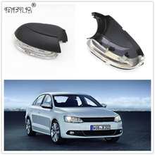 Светодиодные зеркало свет для VW Jetta 6 MK6 2011 2012 2013 2014 автомобиль-Stying зеркало заднего светодиодный поворотник индикатор лампы