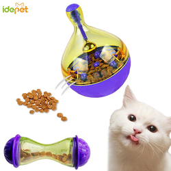 Cat Food Feeders Ball Pet Interactive Toy Tumbler Egg Smarter Cat Dogs Playing Toys Treat Ball Shaking for Dogs Increases IQ 6c4