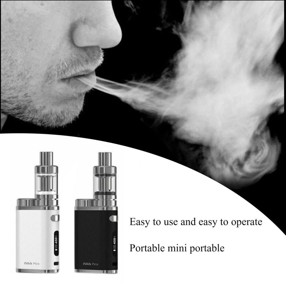 Mini contrôle de température 75W Lcd Vape E stylo Kit de vapeur E-Cigarette en toute sécurité en bonne santé arrêter de fumer dispositif pour la famille des amis