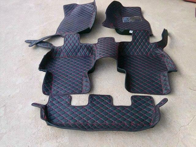 Tapis de haute qualité! Tapis de sol spéciaux pour voiture Audi Q7 7 sièges | Tapis étanches pour conduite à main droite, 2014-2006, tapis pour Q7 2011