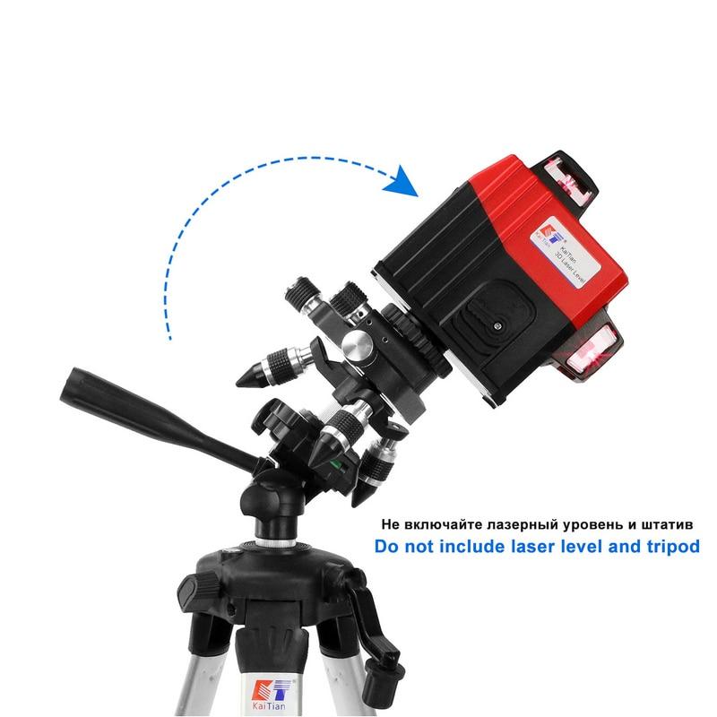 Kaitian 360 forgó lézeres szög beállító tartó hosszabbító - Mérőműszerek - Fénykép 3