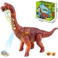 YUSHIXING Electric Egg Laying Dinosaur Toys Will Walk To Lay Projection Tyrannosaurus Rex Dinosaur Model Toys