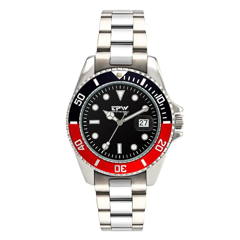Relojes Steel Watch Men Fashion Sport Quartz Clock Men Watches Top Brand Luxury Business Waterproof Watch Relogio Masculino