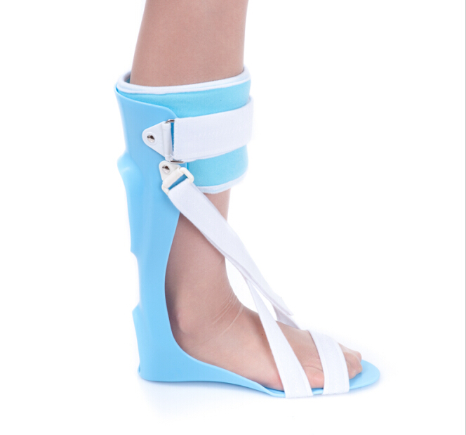 ФОТО Free Shipping Ankle Foot Drop AFO Brace Orthosis Splint Leaf Spring Recovery Equipment Injection Molded Small Large Foot Support