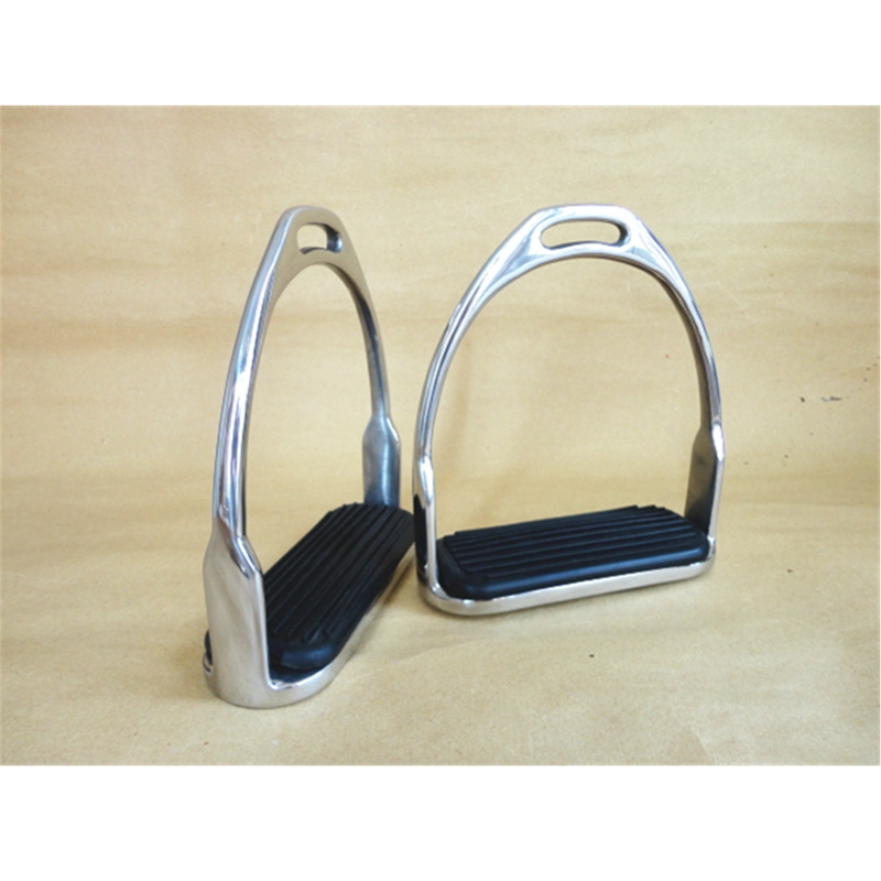 Stainless Steel Horse Stirrups Horse Equipment   12cm