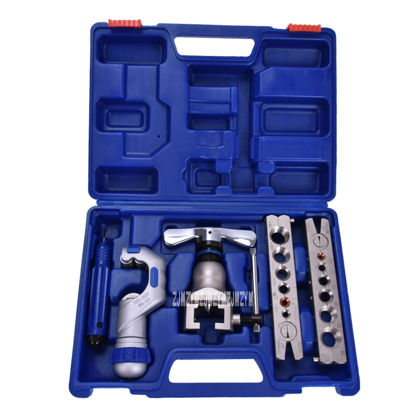 1set WK-806FT Copper tube flaring cutting tool kit,pipe flaring tool set Cutting knife suit for 5-32MM copper pipe