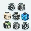 Nuevo Estilo Color Fidget Cube Juguetes para Puzzles & Magic Antiestrés Regalo Patrón de Camuflaje de la Alta Calidad