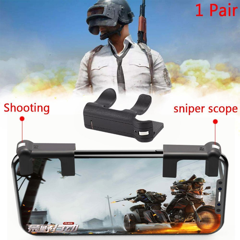 Free Fire PUBG Mobile Game Shoot Button Trigger L1 R1 Joystick Gamepad Rules of Survival Knives Out STG FPS For iPhone Android