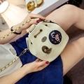 Leather Designer Famous Brand Handbags Tide Chain Bucket Bag Mini Badge Messenger Bag Mini Shoulder Bag Bolsas Bolsa Celini
