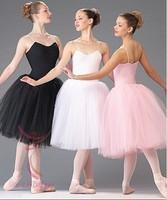 Adult Women Kids Girls Pink Black White Classic Ballet Tutu Dress Ballet Costume Free Size