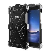 Саймон Thor для Xiaomi Redmi Note 4 металлический корпус алюминиевый Железный человек противоударные Чехлы для Mi4 Mi4i MI5 Redmi 4x Примечание 4×2 3 4 крышка