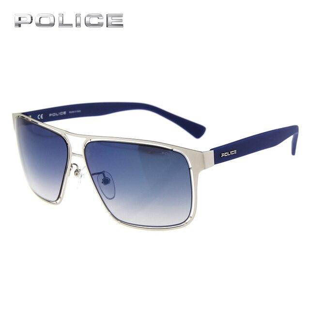 3da0567f3f6 POLICE UV400 Carré Acétate Cadre Aviator lunettes de Soleil Marque Designer  Spécial De Luxe Pilote Effacer