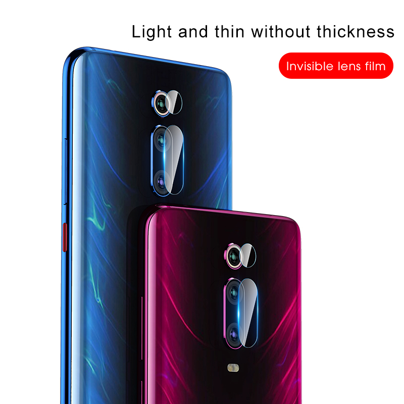 Image 4 - 2 in 1 Protective Glass For Xiaomi Mi 9T K20 Pro Camera Screen Protector Safety Film Lens Tempered Glass On Redmi Red mi K20 Pro-in Phone Screen Protectors from Cellphones & Telecommunications