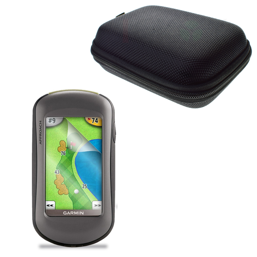 Garmin approach g5 gps review - Anti Shock Portable Protect Case Bag Clear Lcd Pet Film Anti Scratch Screen