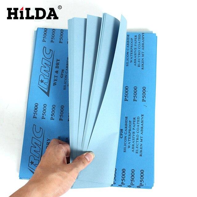KINGGUARD waterproof  abrasive paper 5 Sheets CP-38 Sandpaper 5000 Grit Waterproof Paper Wet/Dry Silicon Carbide silicon carbide mata bor amplas