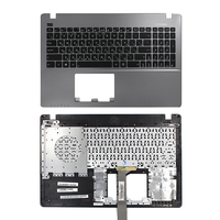Russia Laptop Keyboard For ASUS X550 X550C X550CA X550CC X550CL X550J X550JD WITH COVER C Silver