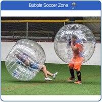 Бесплатная доставка ПВХ Материал 1.5 м надувной пузырь Футбол мяч надувной мяч бампера надувной мяч Зорб пузырь Футбол