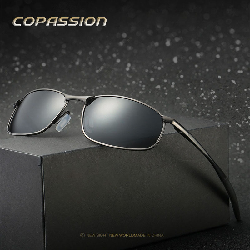 Outdoor Polarized sunglasses man women Brand design 2017 Magnesium Aluminum driving glasses Goggles uv400 Eyewear gafas de sol