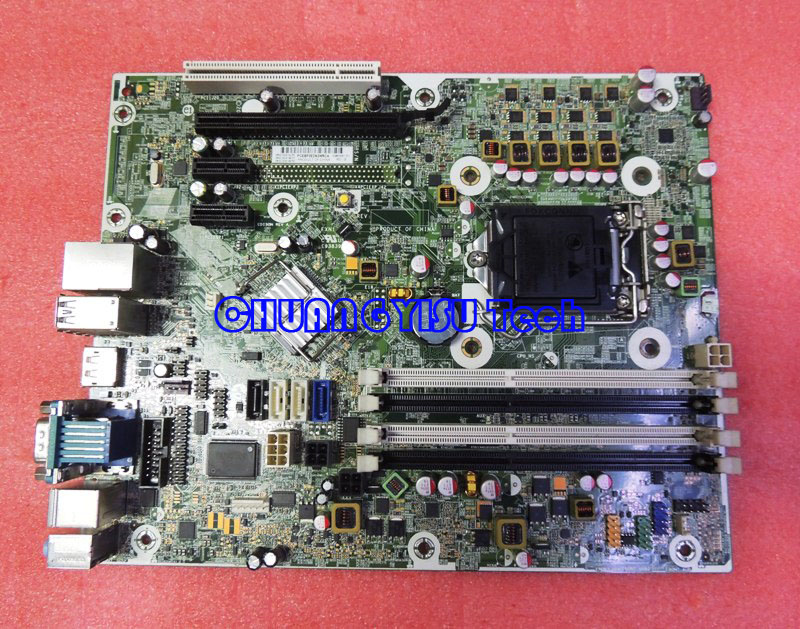 Free shipping CHUANGYISU for Pro 6300 SFF system motherboard 657239 001 656961 001 chipset Q75 LGA