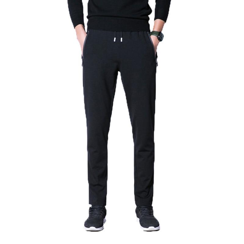 2018 Fashion The New Spring Men Sportpants Casual Cotton Men Loose Sweat Trousers Autumn Jogger Pencil Pants Plus Size XL-8XL