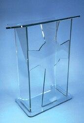 Jasne akrylowe pulpit akrylowe pulpit/jasne akrylowe pulpit stojak na akrylowe ambona pleksi Podium w Biurka do recepcji od Meble na
