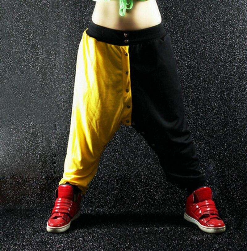 2016 Nové módní ženy Hip hop tepláky ds performance kostýmy dámské ležérní kalhoty harem kalhoty taneční kalhoty