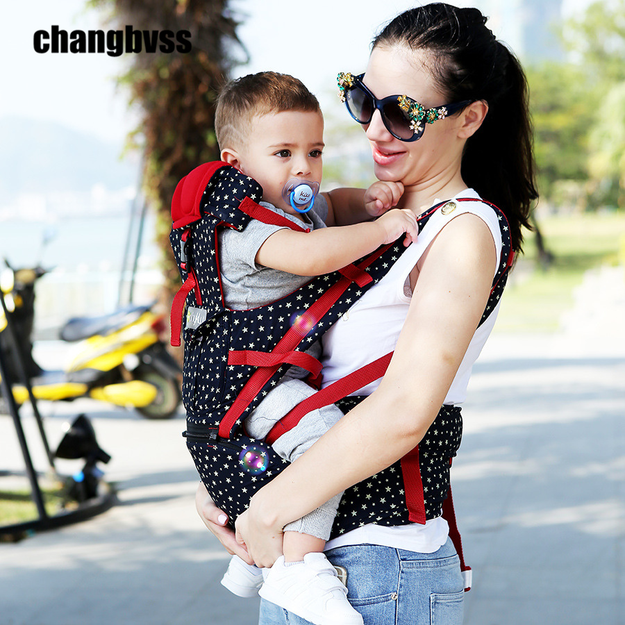 New Arrival Ergonomic Baby Carrier Breathable Baby Sling Infant Hipseat Waist Stool Outdoor Baby Backpack Porte Bebe Mochila