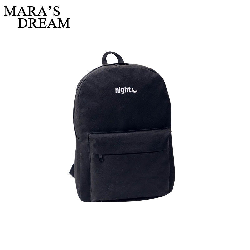 Maras Dream New Casual Canvas Backpack Rucksack Women Clutch Ladies Party Purse Shoulder Crossbody Bags Student Backpack Bag