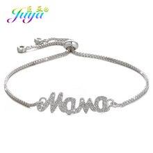 Women Bracelets Supplies Adjustable Silver Bracelet