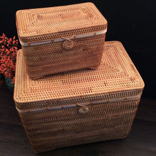 XL large clothes storage box with cover lids for closet organizer basket in wardrobe toys